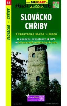 Slovácko Chřiby 1:50 000 cena od 86 Kč