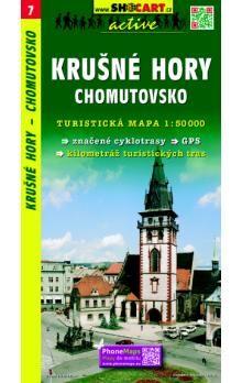 Krušné hory Chomutovsko 1:50 000 cena od 69 Kč
