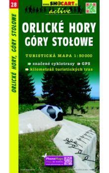 SHOCART Orlické hory Góry Stołowe 1:50 000 cena od 79 Kč