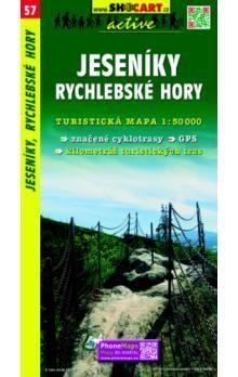 Jeseníky, Rychlebské hory 1: 50 000 cena od 79 Kč
