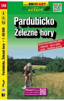 Pardubicko Železné hory 128 cyklo 1:60 000 cena od 88 Kč