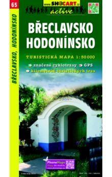 Břeclavsko Hodonínsko 1:50 000 cena od 73 Kč