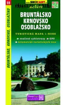Bruntálsko, Krnovsko 1:50 000 cena od 69 Kč