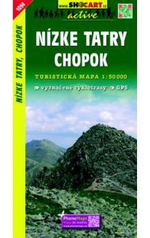 SHOCART Nízké Tatry Chopok 1:50 000 cena od 85 Kč