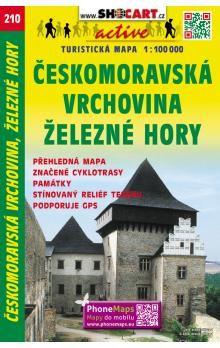 Českomoravská vrchovina 1:100 000 cena od 48 Kč