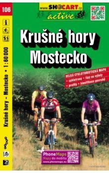 Krušné hory Mostecko 1:60 000 cena od 81 Kč