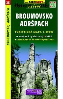 Broumovsko Adršpach 1:50 000 cena od 86 Kč