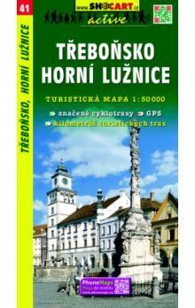 SHOCART Třeboňsko Horní Lužnice 1:50 000 cena od 69 Kč