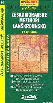 Českomoravské mezihoří Lanškrounsko 1:50T cena od 71 Kč