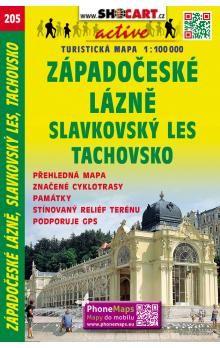 SHOCART Západní lázně Český les 1:100T cena od 60 Kč