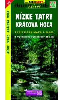 SHOCART Nízké Tatry Kráľova Hoľa 1:50 000 cena od 85 Kč