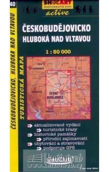 Českobudějovicko Hluboká nad Vltavou1:50 000 cena od 75 Kč