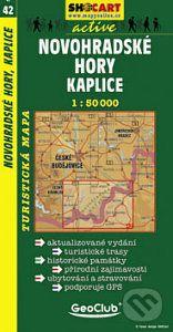 Novohradské hory Kaplice 1:50 000 cena od 69 Kč