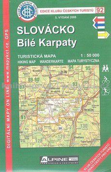KČT 92 Slovácko, Bílé Karpaty cena od 76 Kč