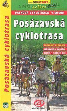 SHOCART Posázavská cyklotrasa 1:60 000 cena od 55 Kč