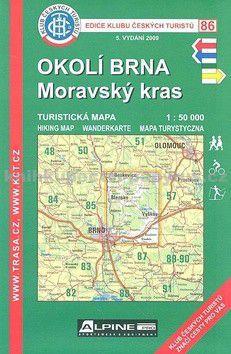 KČT 86 Okolí Brna Moravský kras cena od 77 Kč