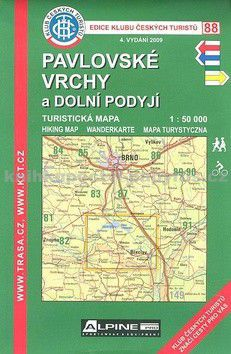 KČT 88 Pavlovské vrchy cena od 89 Kč