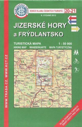 KČT 20-21 Jizerské hory a Frýdlantsko cena od 89 Kč