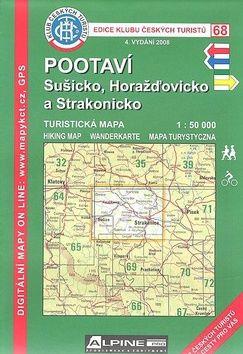 KČT 68 Pootaví, Sušicko, Horažďovicko a Strakonick cena od 82 Kč
