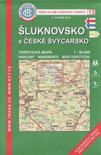 KČT 13 Šluknovsko a České Švýcarsko cena od 89 Kč