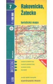 Kartografie PRAHA Rakovnicko, Žatecko 1:100 000 cena od 18 Kč