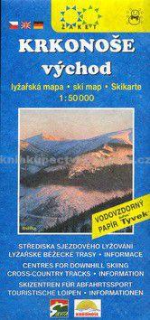Žaket Krkonoše východ Lyžařská mapa cena od 42 Kč