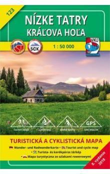 Kolektiv autorů: Nízke Tatry, Kráľova Hoľa 1 : 50 000 cena od 75 Kč