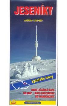 JENA Jeseníky 1:50 000 Zimní lyžařská mapa cena od 30 Kč