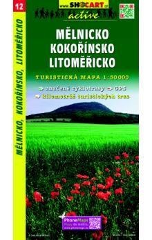 SHOCART Mělnicko Kokořínsko Litoměřicko 1:50 000 cena od 69 Kč