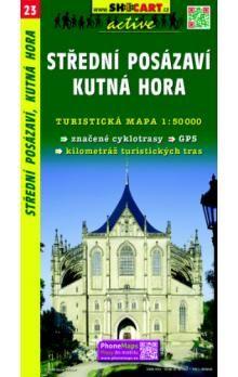 Střední Posázaví, Kutná Hora 1:50 000 cena od 69 Kč