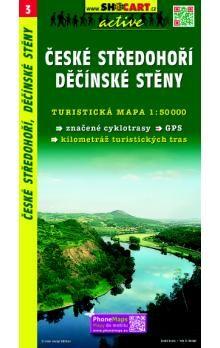 SHOCART České středohoří Děčínské stěny 1:50 000 cena od 73 Kč