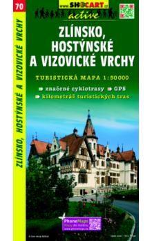 SHOCART Zlínsko, Hostýnsé a Vizovické vrchy 1:50 000 cena od 76 Kč