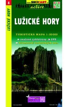 SHOCART Lužické hory 1:50 000 cena od 69 Kč