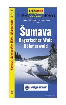 SHOCART Šumava Bayerischger Wald Böhmerwald 1:75T cena od 60 Kč