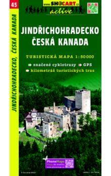 Jindřichohradecko Česká Kanada 1:50 000 cena od 76 Kč