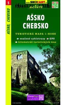SHOCART Ašsko Chebsko 1:50T cena od 73 Kč