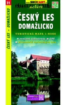 Český les Domažlicko 1:50 000 cena od 69 Kč
