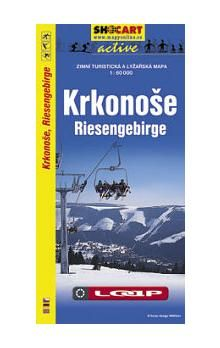 SHOCART Krkonoše Riesengebirge 1:60 000 cena od 61 Kč