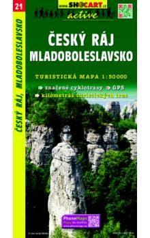 SHOCART Český ráj Mladoboleslavsko 1:50 000 cena od 80 Kč