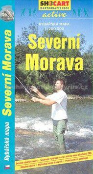 SHOCART Rybářská mapa-Severní Morava 1:200T cena od 65 Kč