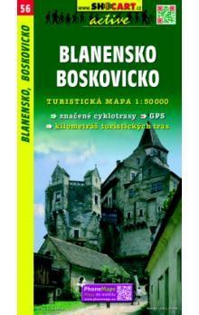 Blanensko Boskovicko 1:50 000 cena od 61 Kč