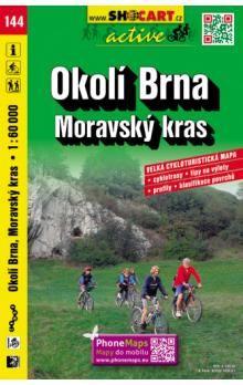 Okolí Brna Moravský kras 1:60 000 cena od 49 Kč