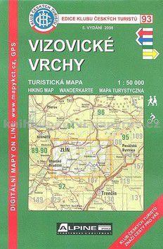 KČT 93 Vizovické vrchy cena od 65 Kč
