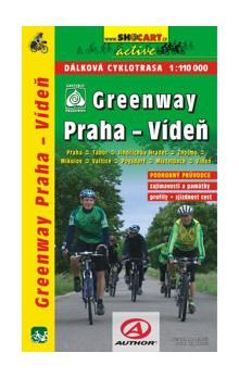 SHOCART Greenway Praha-Wien 1:110 000 cena od 88 Kč