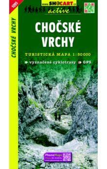 SHOCART Chočské vrchy 1:50 000 cena od 84 Kč