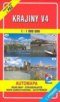 VKÚ Krajiny V4 1 : 100 000 cena od 68 Kč