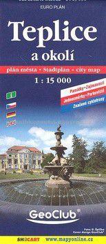 SHOCART Teplice a okolí 1:15 000 cena od 35 Kč