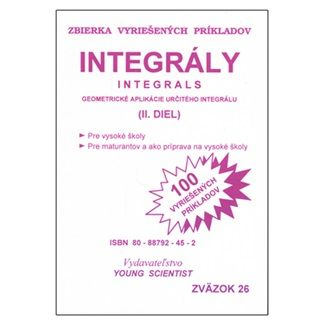 Marián Olejár, Marián Olejár jr.: Integrály II.diel cena od 56 Kč