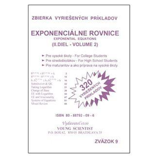 Marián Olejár, Iveta Olejárová: Exponenciálne rovnice 2 cena od 42 Kč