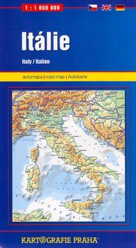 Kartografie PRAHA Itálie 1:1 050 000 cena od 89 Kč